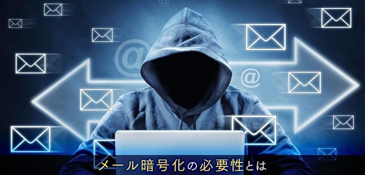 メール暗号化の仕組みとその必要性