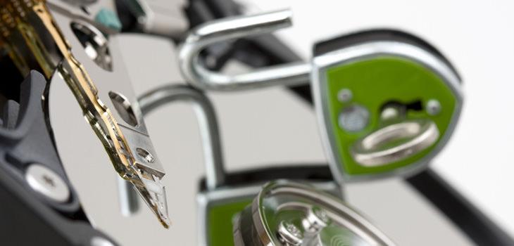 ハードディスク暗号化でできる情報漏えい対策