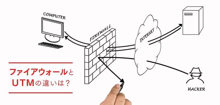 UTMとファイヤーウォールの違いとは?意味・仕組み・メリット・デメリットも