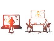 【表で見る】Web会議とテレビ会議の9つの違い!どちらを導入すべき?