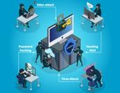 サイバー攻撃の種類を紹介!サイバー攻撃対策もあわせて解説!