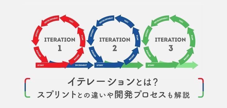 イテレーションとは?スプリントとの違いや開発プロセスを解説!