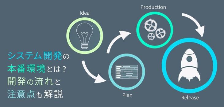 システム開発の本番環境とは?開発の流れと注意点を詳しく解説!