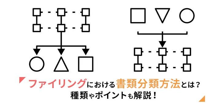 ファイリングにおけるツミアゲ式とワリツケ式の違いについて解説!