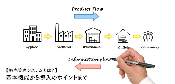 【販売管理システムとは?】基本的な機能から導入のポイントまでを紹介!