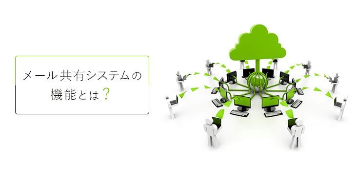 メール共有システムの3つの基本的な機能