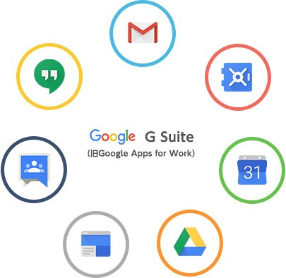 G Suite製品詳細1