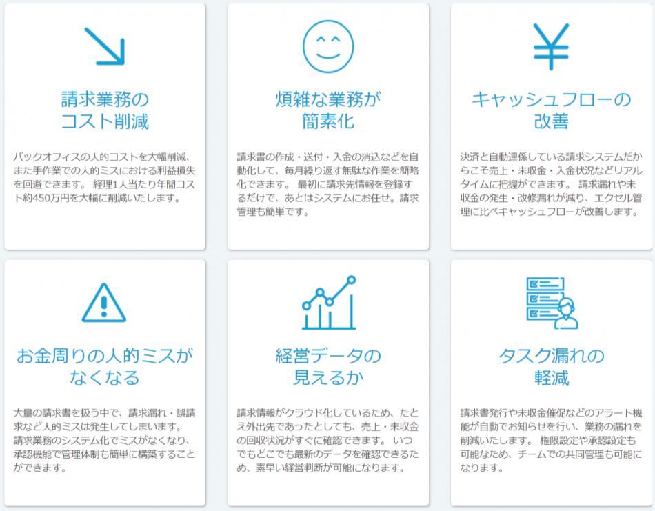 「請求管理ロボ」製品詳細3