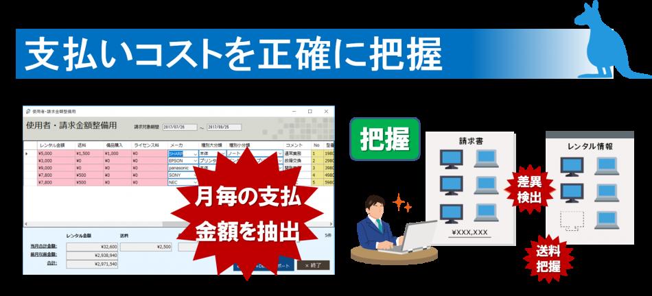 レンタル情報管理ツール製品詳細3