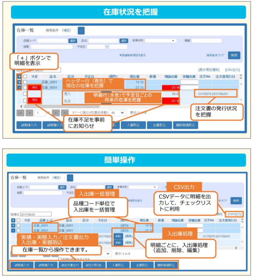 eee CLOUD 在庫管理システム製品詳細2