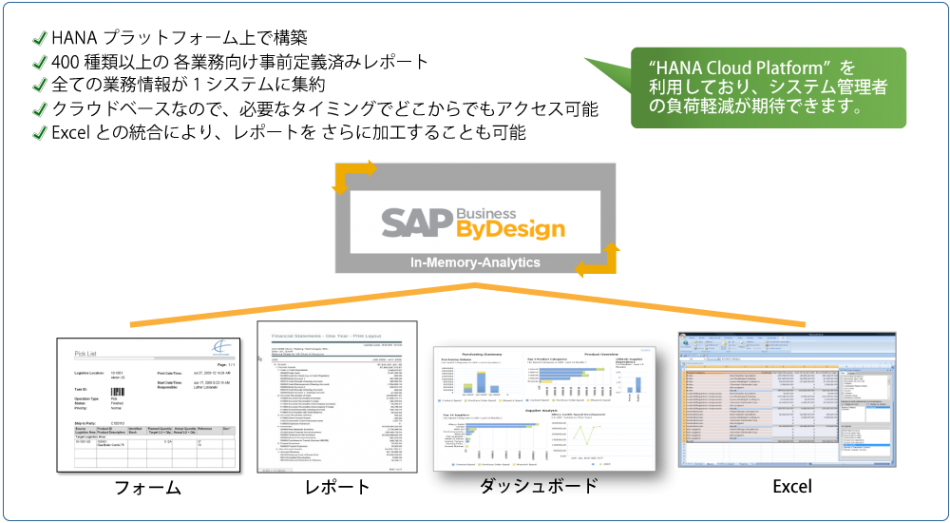 SAP Business ByDesign製品詳細3