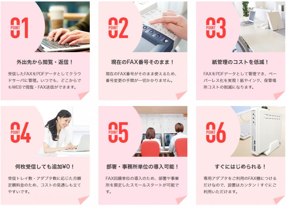 FNX e-受信FAXサービス製品詳細3