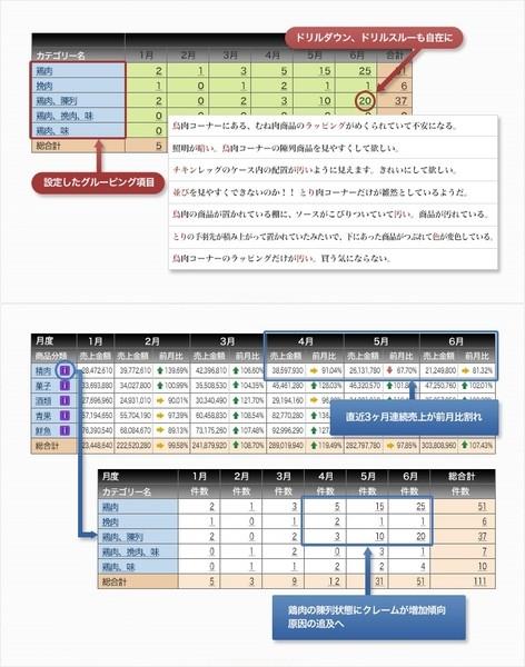 Dr.Sum TextOLAP製品詳細3