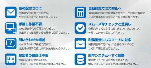 年末調整申告支援サービス「年調ヘルパー」製品詳細3