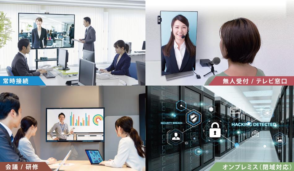 テレビ会議・Web会議システム LoopGate製品詳細1
