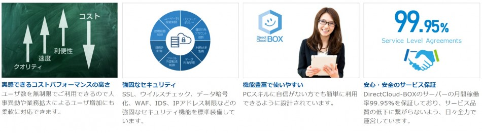 DirectCloud-BOX製品詳細3