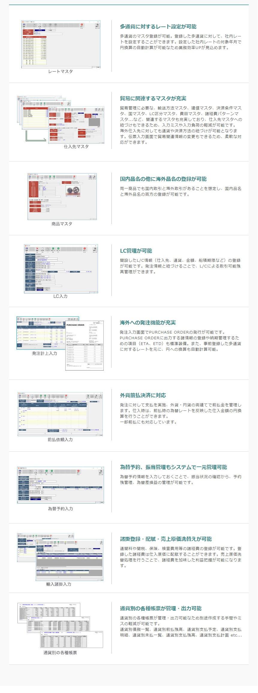 アラジンオフィス(貿易[輸入]業向け)製品詳細3