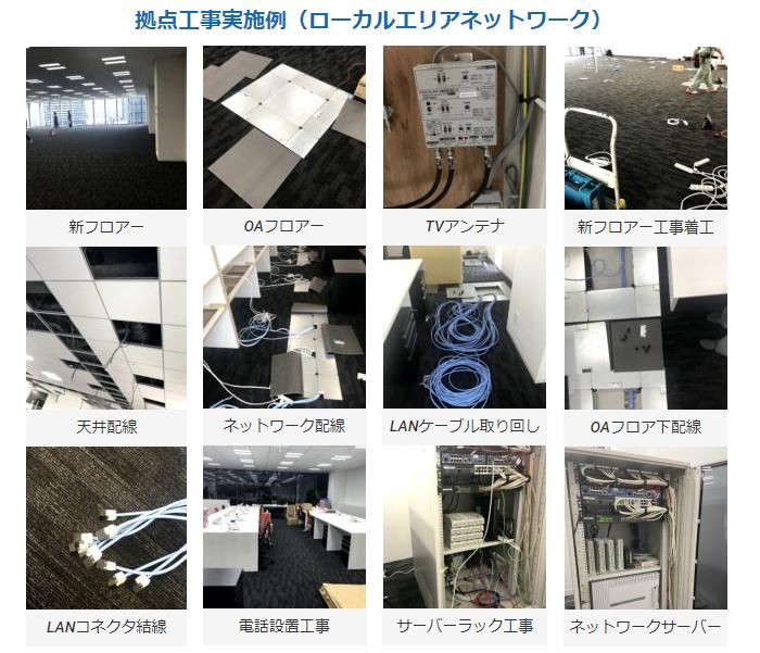 企業ネットワーク構築(東京都内限定)製品詳細2