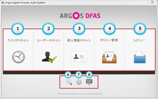 Argos DFAS製品詳細1