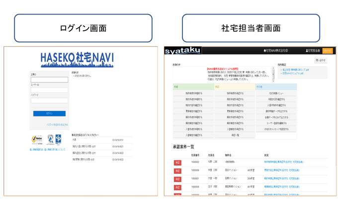 """""""長谷工グループ""""の総合力で社宅業務を効率化!製品詳細2"""