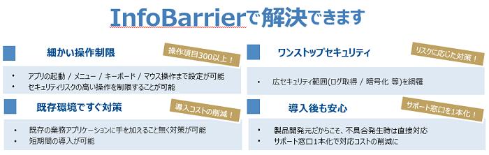 InfoBarrier製品詳細2