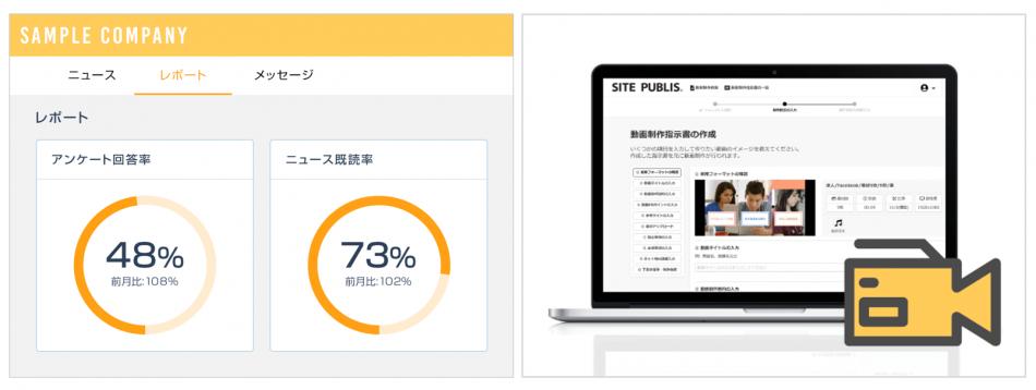 社内報クラウドサービス TSUTAERU製品詳細2