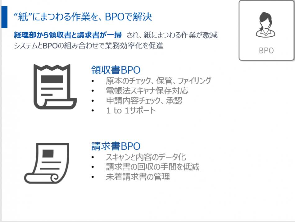 マネーフォワード クラウド経費BPO製品詳細2