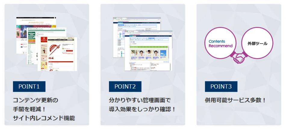 【ECサイト以外・情報サイト向け・コンテンツサイト】Contents Recommend製品詳細1