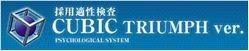 【無料サンプル受付中】採用にこだわるなら適性検査CUBIC!製品詳細1