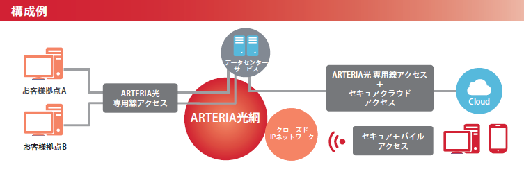 「ARTERIA光 専用線アクセス」製品詳細3