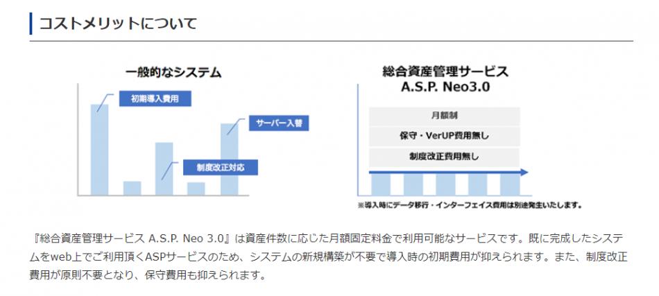 総合資産管理サービスA.S.P. Neo3.0製品詳細3