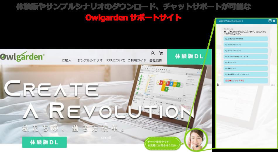 Owlgarden RPA(オウルガーデン アールピーエー)製品詳細2