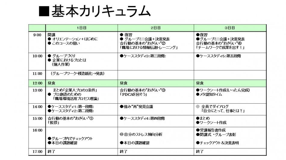 【オンライン対応】社員基本アドバンストコース製品詳細2