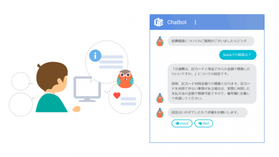 「HUE Chatbot」製品詳細1