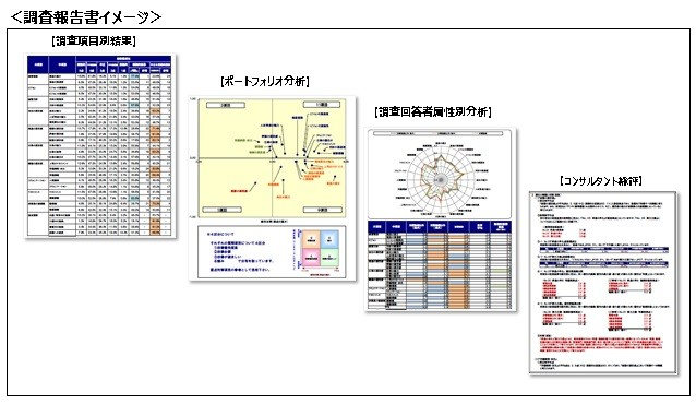 「コミットメント」「従業員満足度」「組織風土」の視点から組織を分析製品詳細3