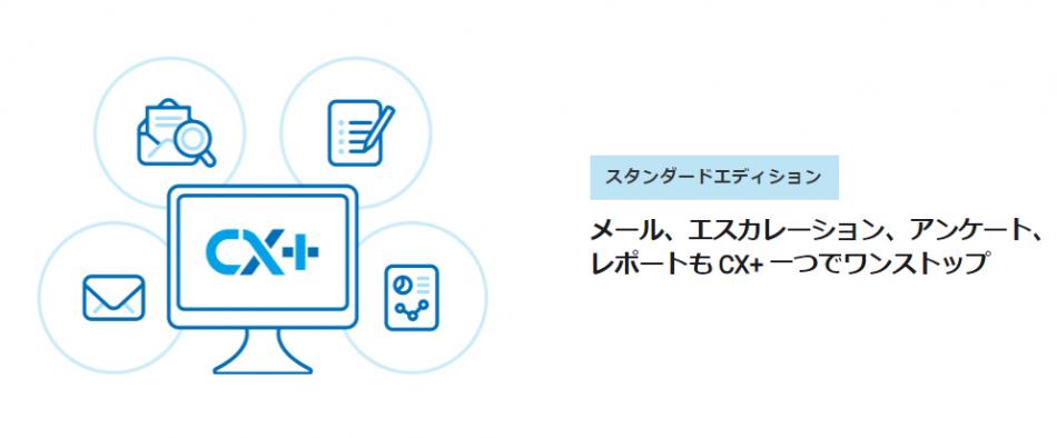 通知機能で大切なメールを見逃さない!メール管理システム「CX+」製品詳細1