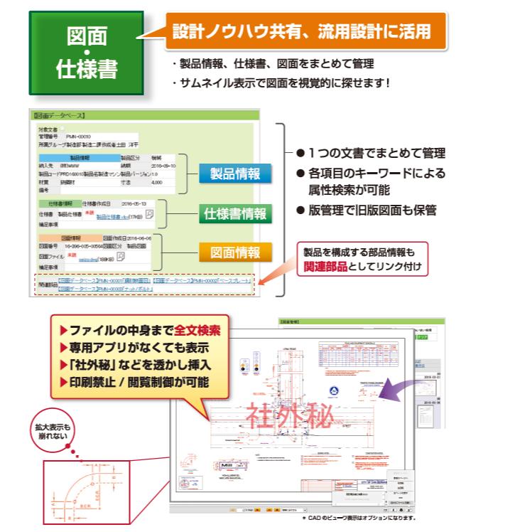 楽々Document Plus製品詳細3