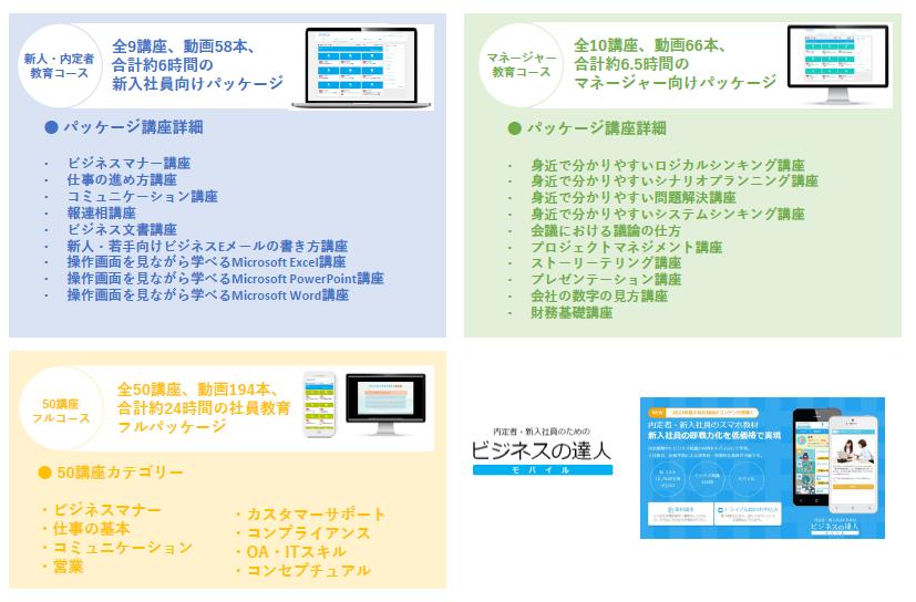 サクテスライブラリ ビジネスパッケージ製品詳細2