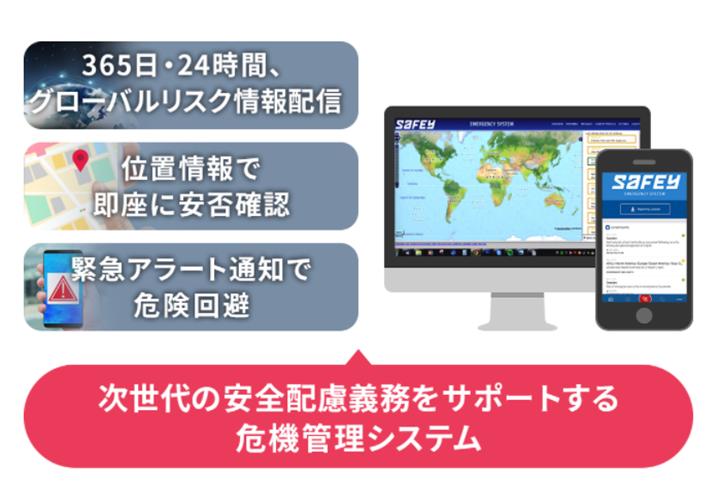 SAFEY危機管理サービス製品詳細1