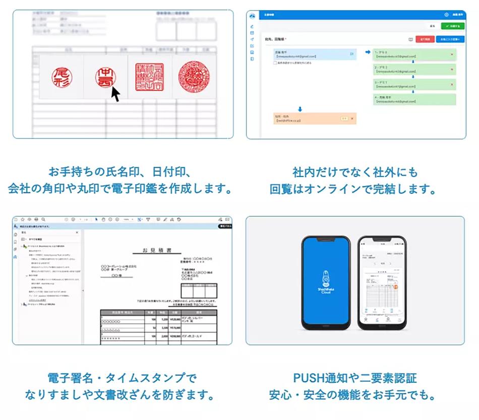 Shachihata Cloud製品詳細3