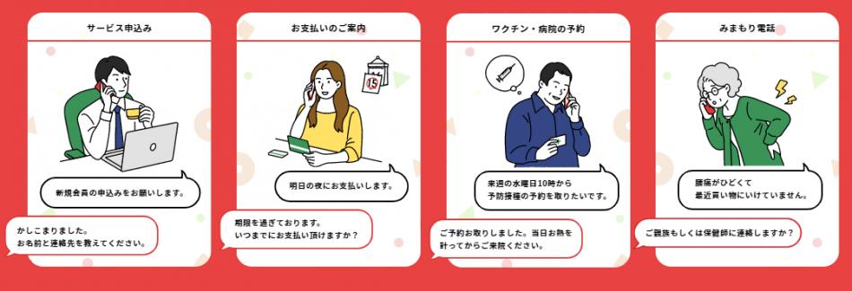 NTTドコモのAI電話サービス製品詳細3