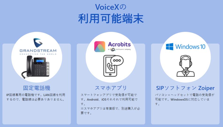 Voice X(ボイスクロス)製品詳細3