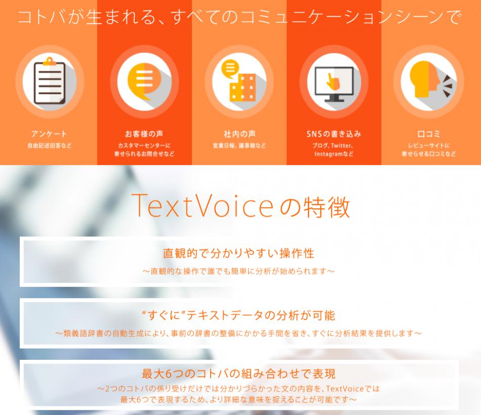 TextVoice(テキストボイス)製品詳細1