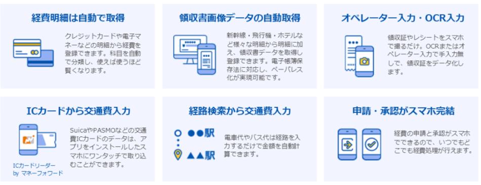 MFクラウド経費製品詳細1