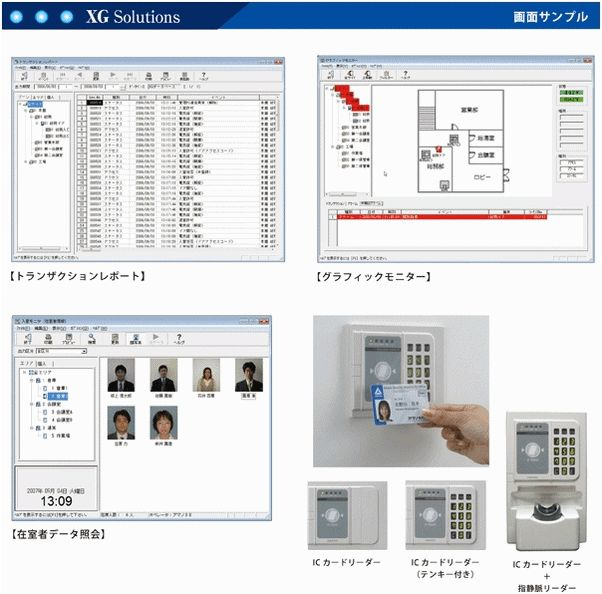 TimePro-XG入室 製品詳細1