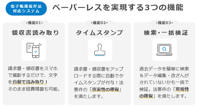 「楽楽精算」製品詳細2