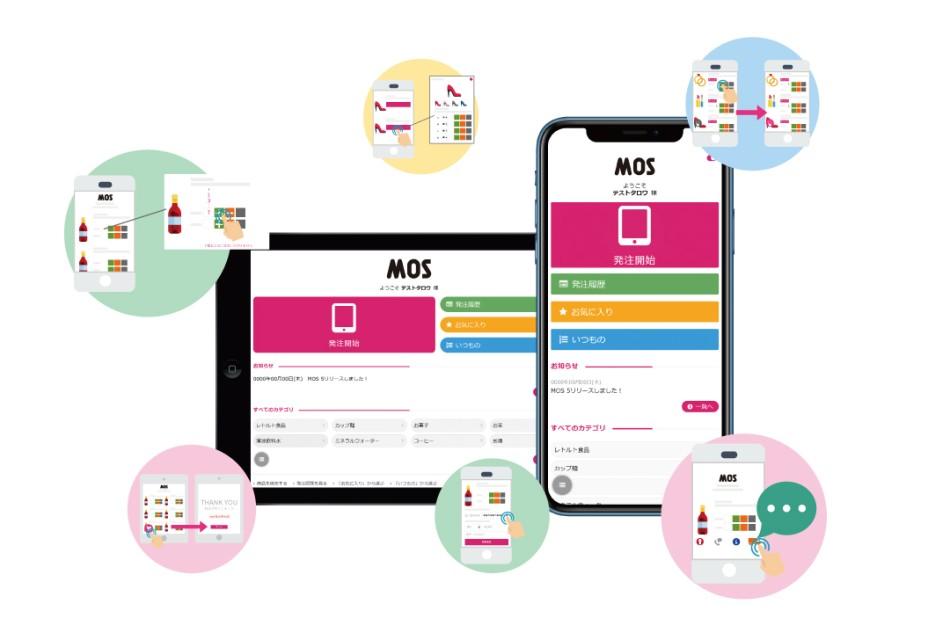 スマートフォン・タブレット受発注システム MOS製品詳細2