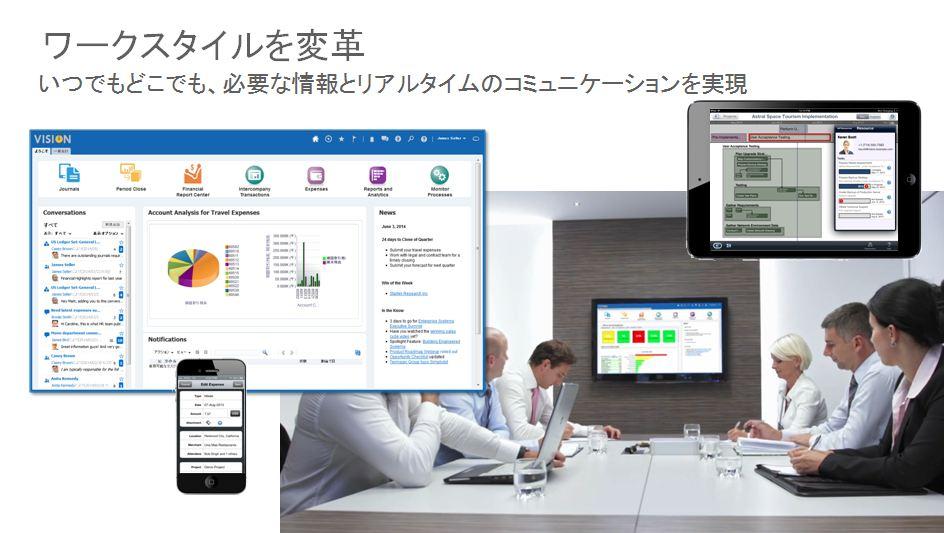 「Oracle Fusion Cloud ERP」製品詳細2