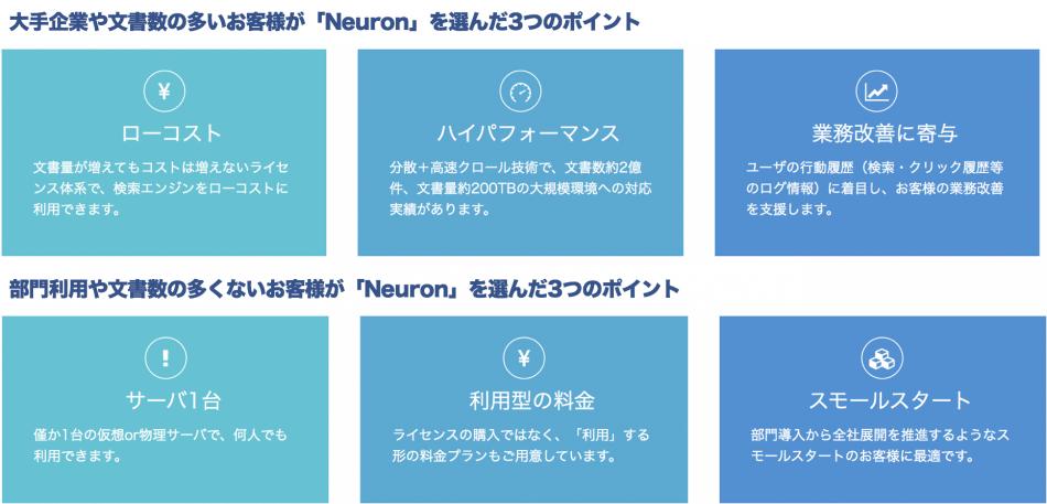 Neuron製品詳細2