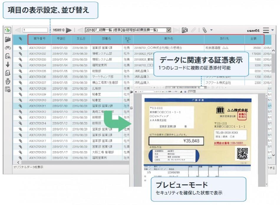 電子証跡システム 「DataDelivery」製品詳細2